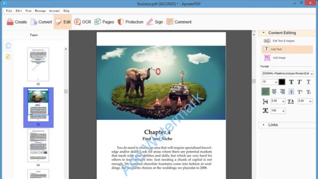 ApowerPDF for Windows 10 Screenshot 3