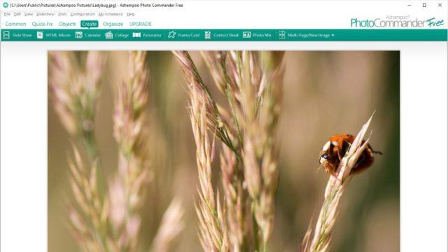 Ashampoo Photo Commander FREE for Windows 10 Screenshot 1