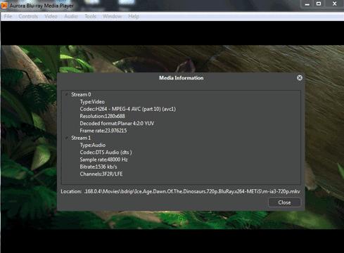 Aurora Blu-ray Media Player for Windows 10 Screenshot 2