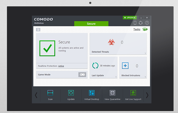 Comodo Free Antivirus for Windows 10 Screenshot 2