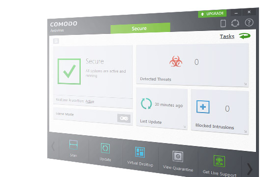 Comodo Free Antivirus for Windows 10 Screenshot 1