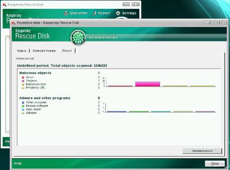 Kaspersky Rescue Disk for Windows 10 Screenshot 1