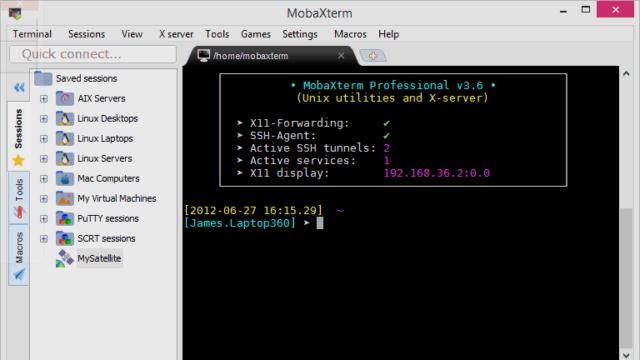 MobaXterm for Windows 10 Screenshot 2
