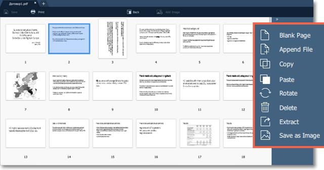 Movavi PDF Editor for Windows 10 Screenshot 2
