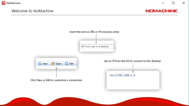 NoMachine for Windows 10 Screenshot 1
