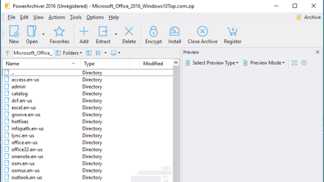 PowerArchiver for Windows 10 Screenshot 1