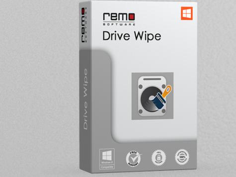 Remo Drive Wipe for Windows 10 Screenshot 1