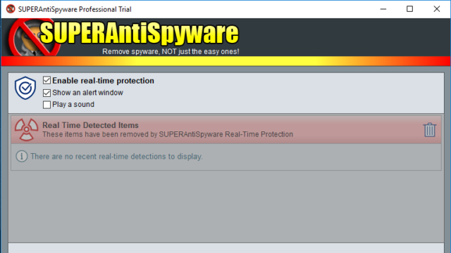 SUPERAntiSpyware Free Edition for Windows 10 Screenshot 3