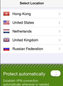 Seed4me VPN for Windows 10 Screenshot 1