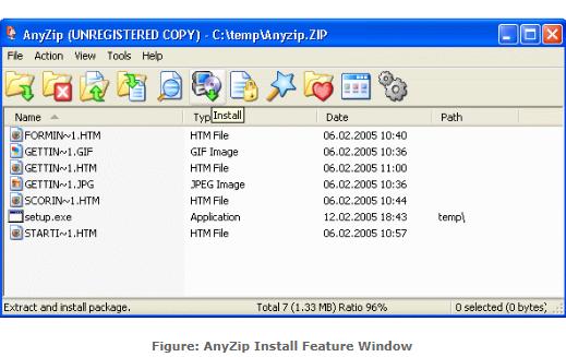 AnyZip for Windows 10 Screenshot 1