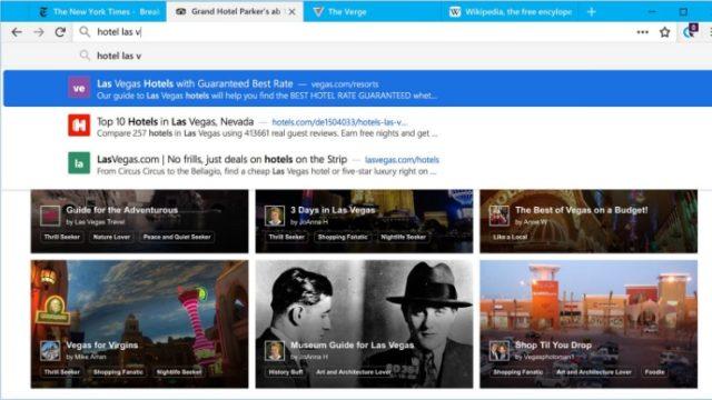 Cliqz for Windows 10 Screenshot 1