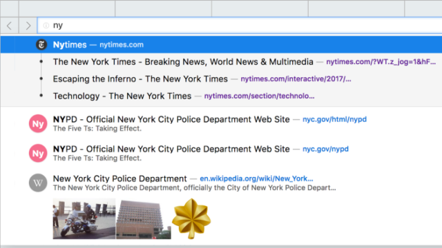 Cliqz for Windows 10 Screenshot 2