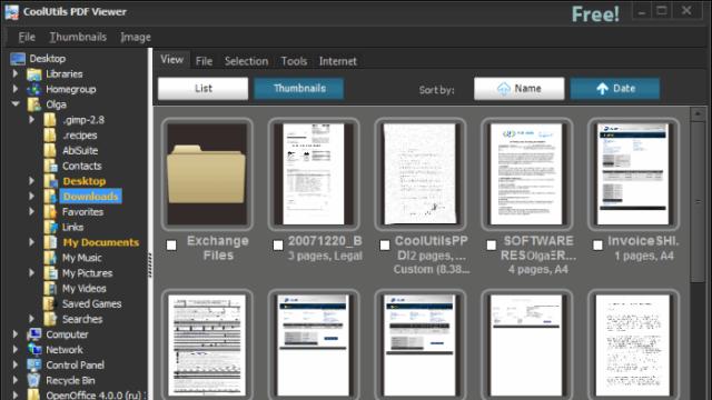 CoolUtils PDF Viewer for Windows 10 Screenshot 1