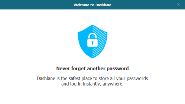 Dashlane for Windows 10 Screenshot 1