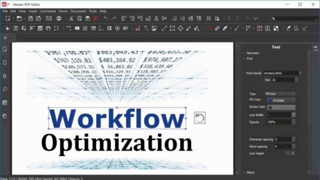Master PDF Editor for Windows 10 Screenshot 1