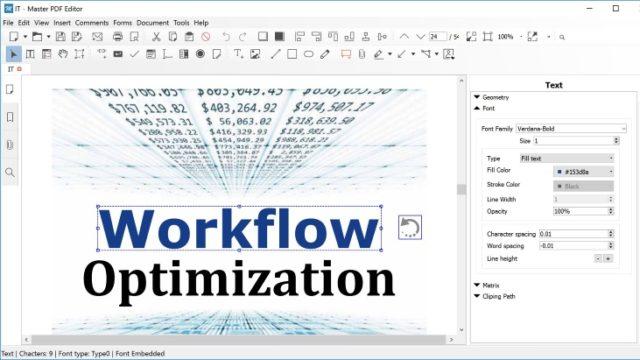 Master PDF Editor for Windows 10 Screenshot 2