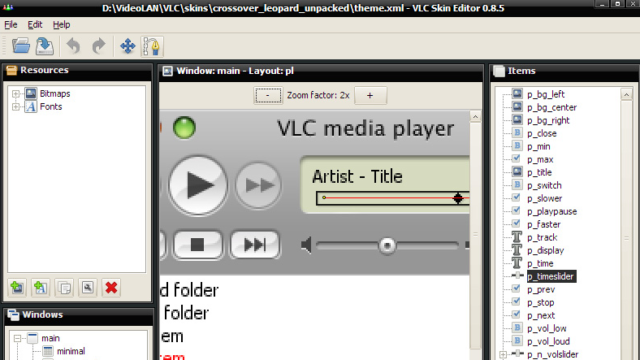 Download Vlc Media Player Skin Editor 64 32 Bit For Windows 10 Pc Free