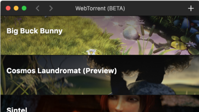 WebTorrent Desktop for Windows 10 Screenshot 3