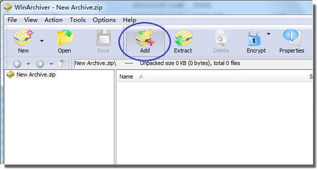 WinArchiver for Windows 10 Screenshot 2