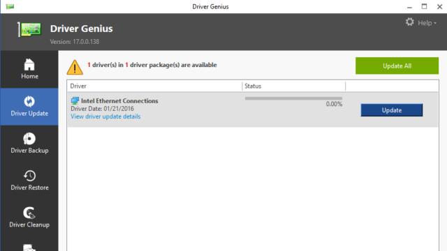 Driver Genius for Windows 10 Screenshot 1