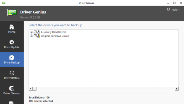 Driver Genius for Windows 10 Screenshot 2