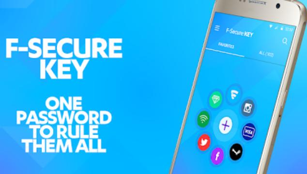 F-Secure KEY for Windows 10 Screenshot 1