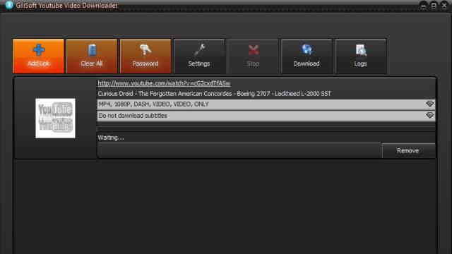 GiliSoft Youtube Video Downloader for Windows 10 Screenshot 1