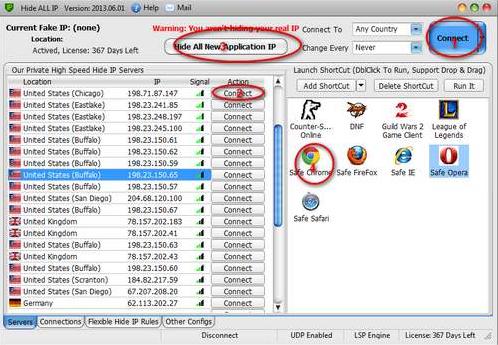 Hide ALL IP for Windows 10 Screenshot 1
