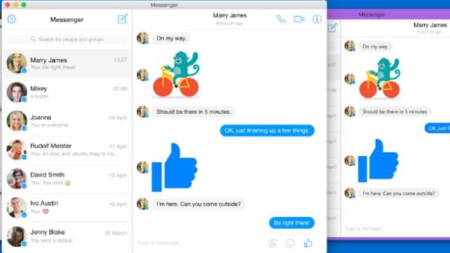Messenger for Desktop for Windows 10 Screenshot 1