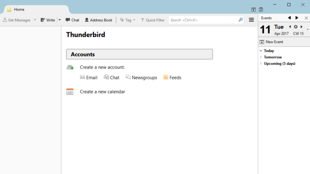Mozilla Thunderbird for Windows 10 Screenshot 1