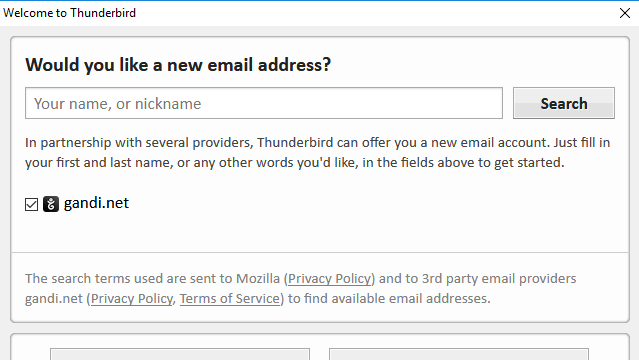 Mozilla Thunderbird for Windows 10 Screenshot 2