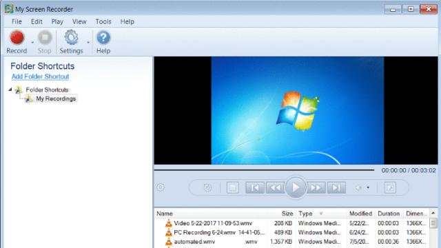 My Screen Recorder for Windows 10 Screenshot 1