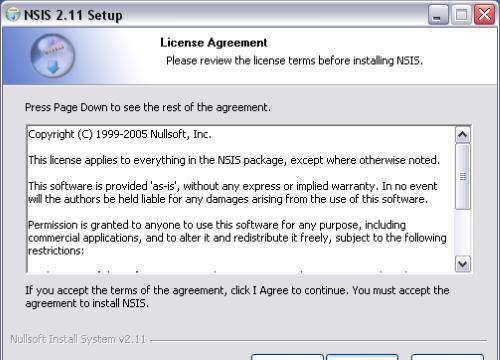 NSIS for Windows 10 Screenshot 1