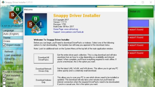 Snappy Driver Installer for Windows 10 Screenshot 2