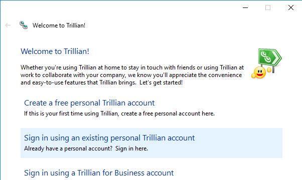 Trillian for Windows 10 Screenshot 2