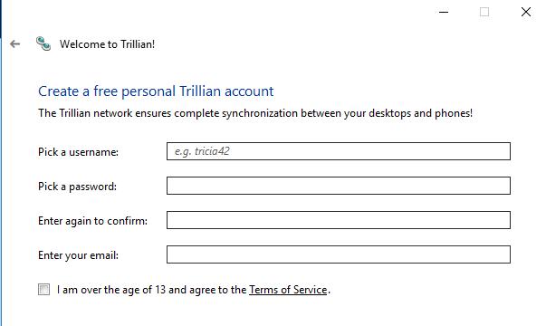 Trillian for Windows 10 Screenshot 3