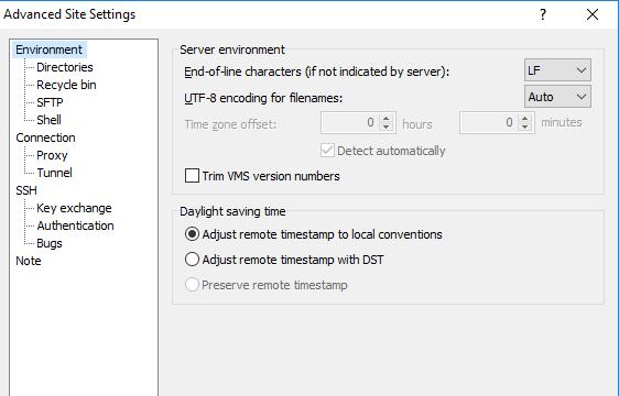 WinSCP for Windows 10 Screenshot 3