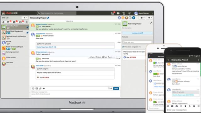 ChatWork for Windows 10 Screenshot 1