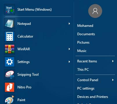 Classic Shell for Windows 10 Screenshot 2