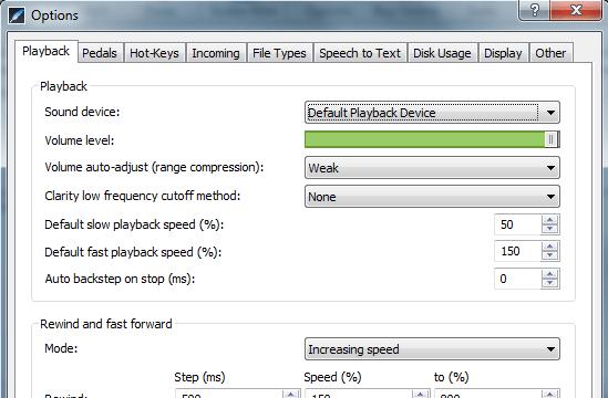 Express Scribe for Windows 10 Screenshot 3