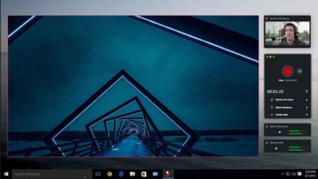 Filmora scrn for Windows 10 Screenshot 1