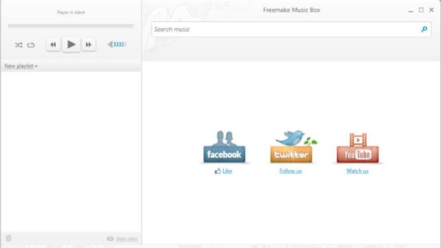 Freemake Music Box for Windows 10 Screenshot 2