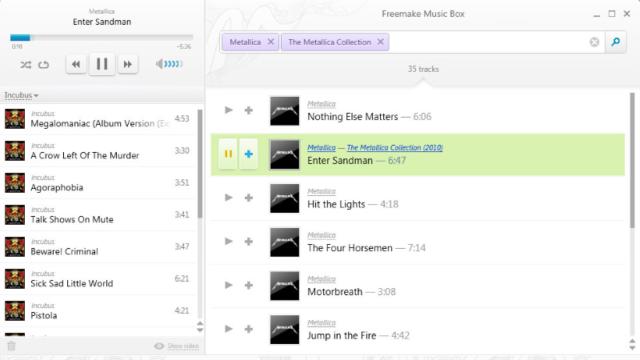 Freemake Music Box for Windows 10 Screenshot 1