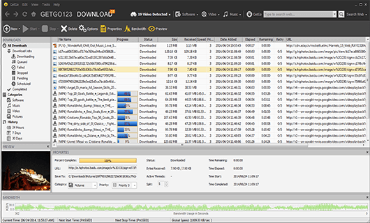GetGo Download Manager for Windows 10 Screenshot 2