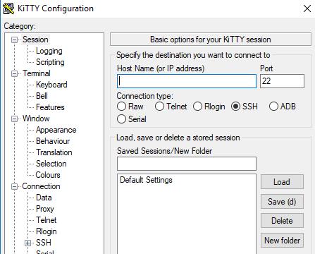 KiTTY for Windows 10 Screenshot 1