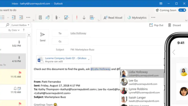 Microsoft Outlook for Windows 10 Screenshot 1