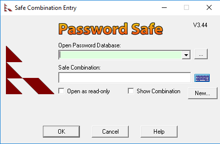 Password Safe for Windows 10 Screenshot 1