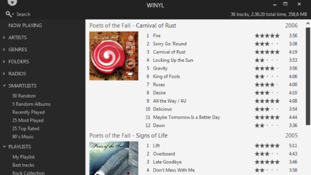 Winyl for Windows 10 Screenshot 2