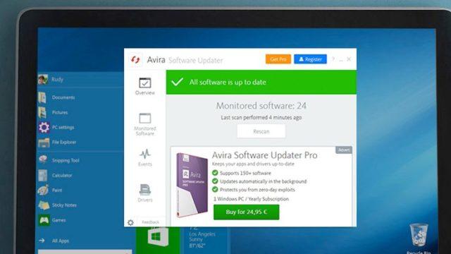 Download Avira Software Updater 64 32 Bit For Windows 10 Pc Free