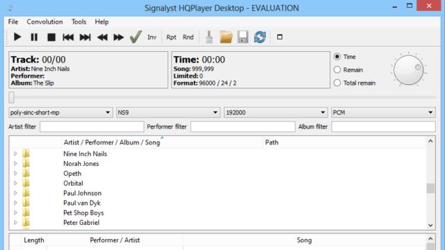 HQPlayer for Windows 10 Screenshot 1